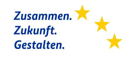 Logo ESF - Zusammen Zukunft Gestalten